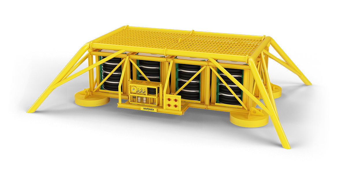 Subsea Chemical Storage System - for long term storage of production chemicals
