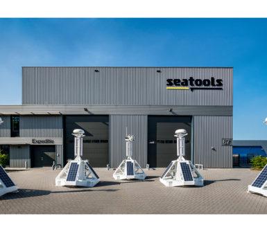 Solar powered offshore instrumentation buoy - remote