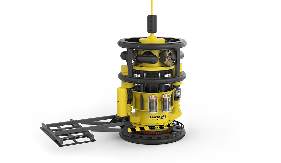Seabed excavator for efficient trenching backfilling