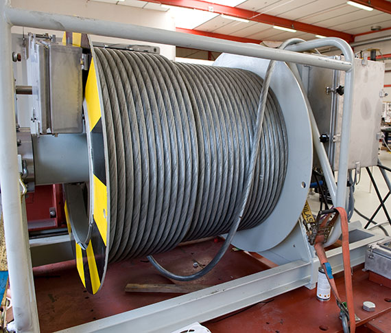 50 tons AHC winch heave compensated maritime applications
