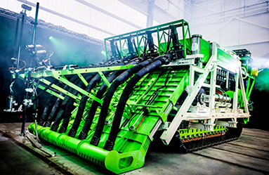 Deep sea mining equipment Seatools crawler